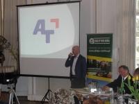 A-T na konferencji w Jabłonnej